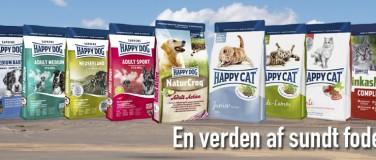 Happy Dog hundefoder på webshop – spar tid/penge